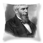 Morrison R. Waite (1816-1888) Throw Pillow