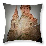 Morristown Church Throw Pillow
