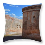Mortuary Chapel Throw Pillow