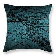 Mosaic Branch Throw Pillow