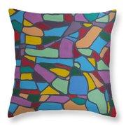 Mosaic Journey Throw Pillow