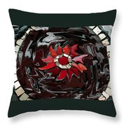 Mosaic Pudding Throw Pillow