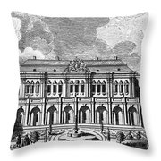 Moscow: Kremlin Palace Throw Pillow