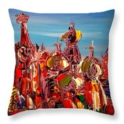 Moscow Throw Pillow
