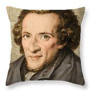 Moses Mendelssohn, German Philosopher Throw Pillow