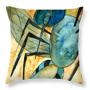 Mosquito Deity  Throw Pillow