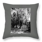 Mossy Rest Throw Pillow