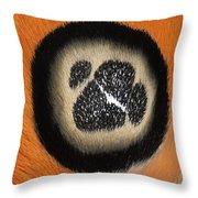 Moth Automeris Zurobara Detail Of False Throw Pillow