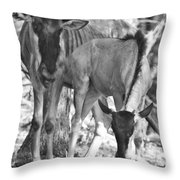 Mother And Child V4 Throw Pillow