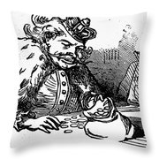 Mother Goose: King Throw Pillow by Granger