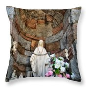 Mother Mary 2 Throw Pillow