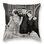 Mother O Mine, 1921 Throw Pillow