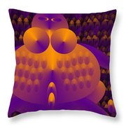 Mother Of Stupidity Throw Pillow