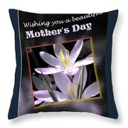 Mothers Day Wish Throw Pillow
