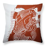 Mothers Prayer Throw Pillow by Gloria Ssali