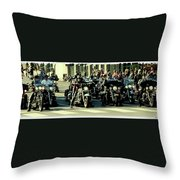 Motley Crew Throw Pillow