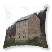 Motor Mill Throw Pillow