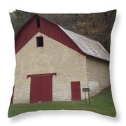 Motor Mill Livery Throw Pillow