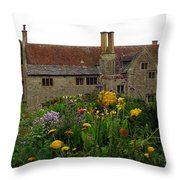 Mottiston Manor Throw Pillow