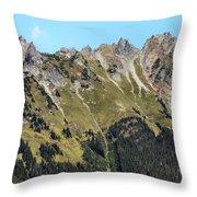 Mount Baker National Forest Throw Pillow