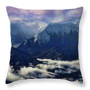 Mount Brooks Throw Pillow