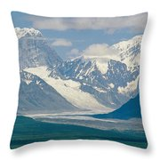 Mount Deborah And Hess Mountain Throw Pillow