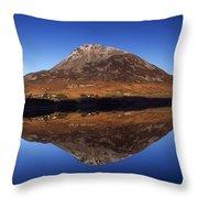 Mount Errigal, Lough Nacung, Dunlewy Throw Pillow
