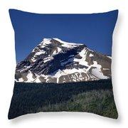Mount Geduhn Livingston Range Glacier National Park Usa Throw Pillow
