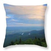 Mount Greylock Adams Overlook Throw Pillow