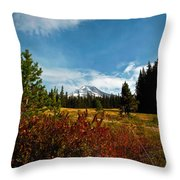 Mount Hood Oregon Throw Pillow