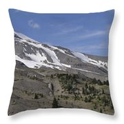 Mount Hood Pano Throw Pillow