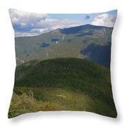 Mount Lafayette From The Kinsman Trail Throw Pillow
