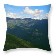 Mount Lafayette From Top Of Cannon Mountain Throw Pillow