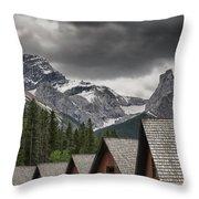 Mount Lougheed Throw Pillow