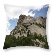 Mount Rushmore National Monument -3 Throw Pillow