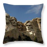 Mount Rushmore National Monument -5 Throw Pillow