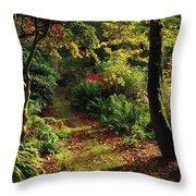 Mount Stewart, Co Down, Ireland Throw Pillow