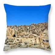 Mount Whitney Gardian Throw Pillow