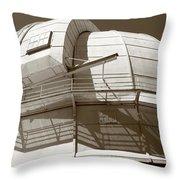 Mount Wilson Observatory Throw Pillow