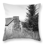 Mountain Air Throw Pillow
