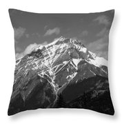 Mountain Cascade Throw Pillow