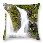 Mountain Spring 3 Throw Pillow