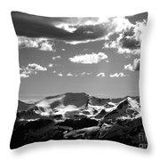 Mountain View Throw Pillow