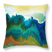Mountainous Throw Pillow