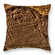 Mountfort - Granary Burying Ground - Greeting Card Throw Pillow