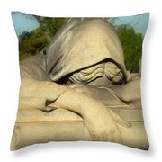 Mourning Woman Throw Pillow