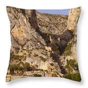 Moustier-sainte-marie Throw Pillow