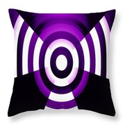 Moveonart Abstractguardianangelinpink Throw Pillow