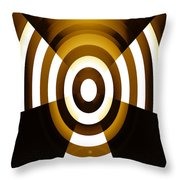 Moveonart Abstractguardianangelinyellow Throw Pillow