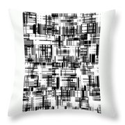 Moveonart Barcoded Throw Pillow